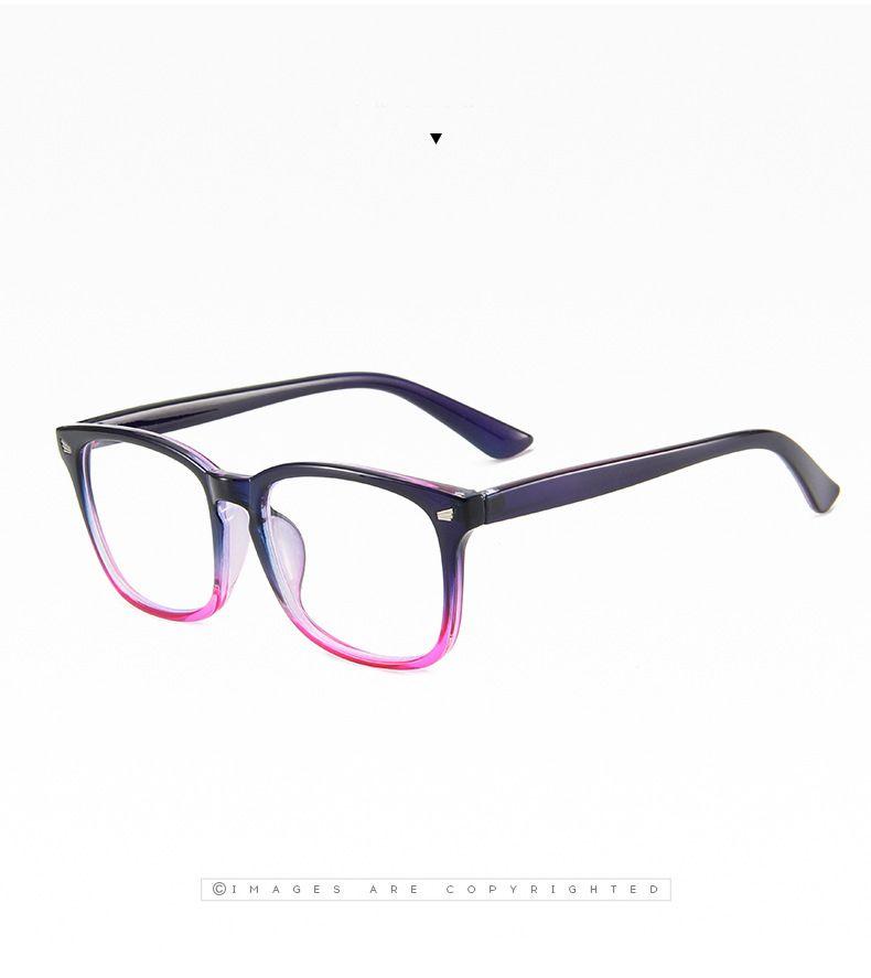 Ochelari de protectie calculator, Techone® C247, blocare lumina albastra, pentru jocuri, PC, TV, anti-oboseala si stralucire UV, pentru adulti, negru/roz