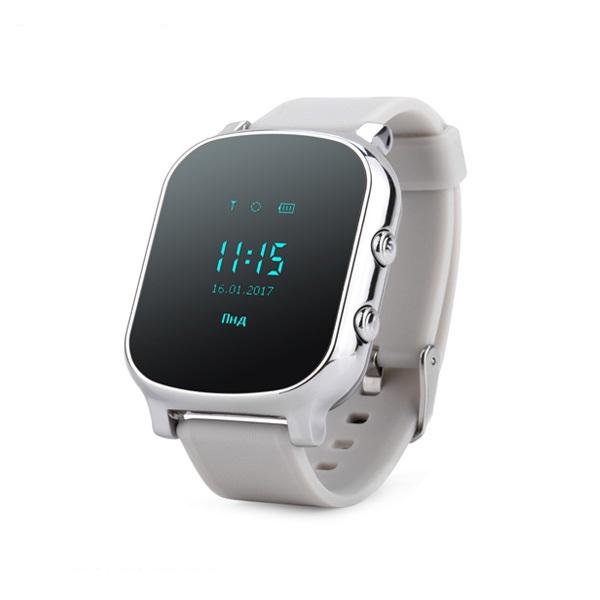 Ceas smartwatch copii sau adultii cu GPS Techone™ GW700 cu functie telefon, localizare WiFi, monitorizare spion, buton SOS, bratara ID inclus, Argintiu