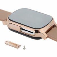 Ceas smartwatch copii sau adultii cu GPS Techone™ GW700 cu functie telefon, localizare WiFi, monitorizare spion, buton SOS, Gold