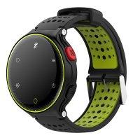 Bratara fitness TechONE™ X2Plus, color, IP68, ritm cardiac, multi sport, pedometru, notificari, vibratii, negru