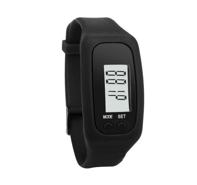 Bratara fitness TechONE™ B50 Pro 2, Ecran LCD, pedometru, numerotare pasi, auto sleep, detectare primul pas jogging, negru