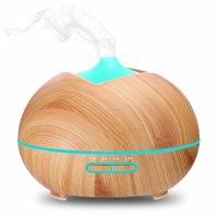 Difuzor aromaterapie KD Home™ SU-HB02, lumina ambientala, ultrasunete, 400mlKD Home