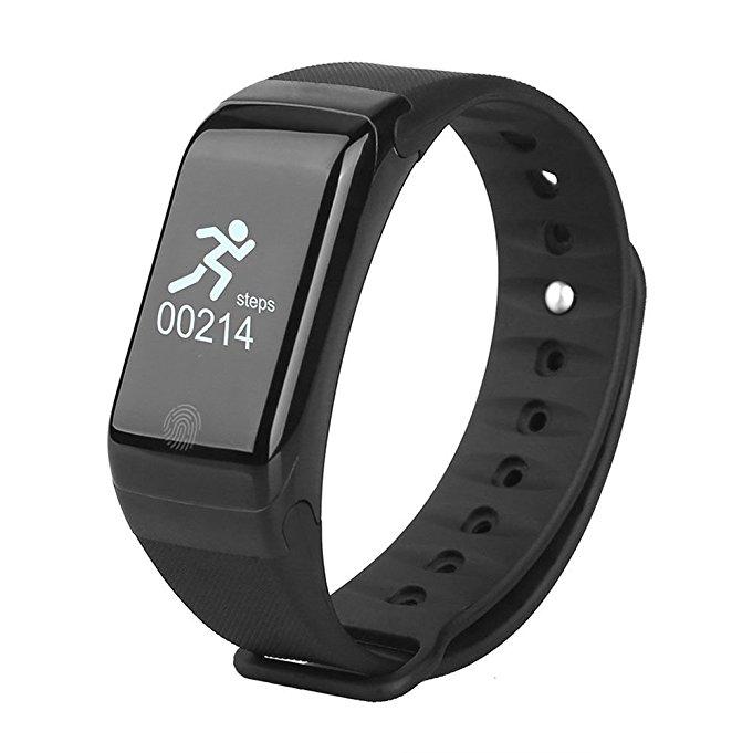Bratara fitness TechONE™ H10 Pro GetFit 3.0, puls, rezistenta la apa, monitorizare puls, nivel oxigen sange, BT 4.0, Android, iOS, intrare apeluri, vibratii, negru