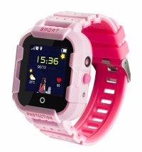 Ceas GPS copii TechONE™ KT03, rezistent la soc, WiFi, localizare foto, submersibil, telefon, SOS, Roz