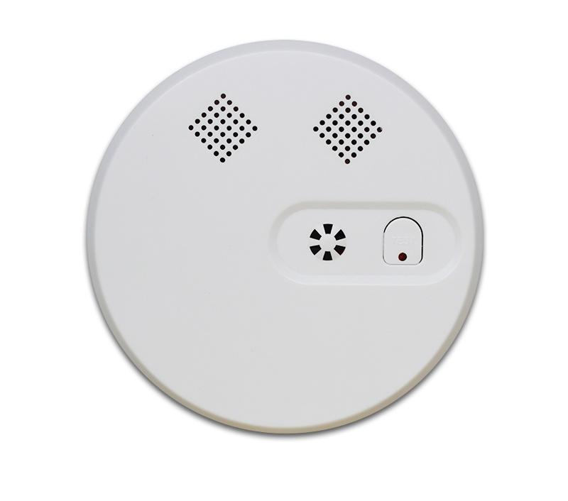 Detector de fum wireless Wale WL-228D pentru sistem de alarma
