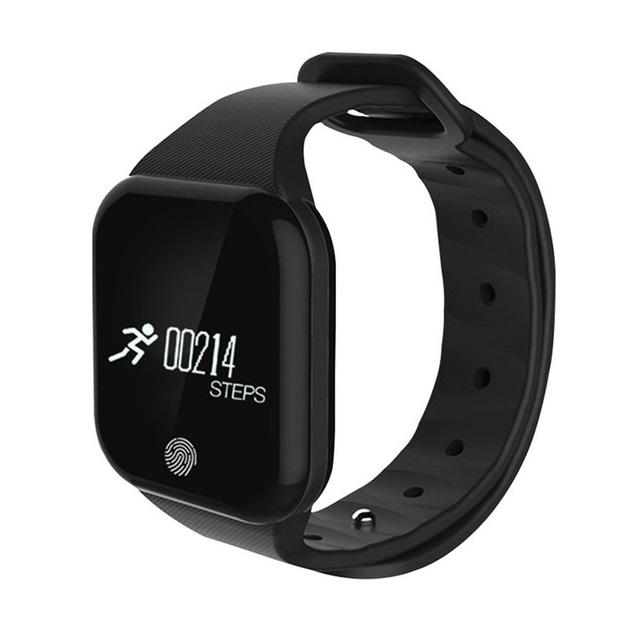 Bratara fitness TechONE™ X5S GetFit 2.0, puls, BT 4.0, OLED 1.26 inch,  notificari, temperatura, altitudine, barometru, negru