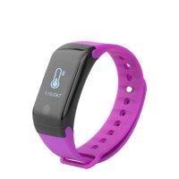 Bratara fitness TechONE™ H10 Pro GetFit 3.0, puls, rezistenta la apa, monitorizare puls, nivel oxigen sange, BT 4.0, Android, iOS, intrare apeluri, vibratii, mov