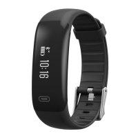 Bratara fitness TechONE™ H40 Pro, BT 4.0, rezistenta la apa IP67, monitorizare puls, cronometru, notificari apeluri si sms, Android, iOS, vibratii, negru