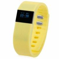 Bratara fitness TechONE™ B50 Pro, Ecran LCD, pedometru, numerotare pasi, auto sleep, detectare primul pas jogging, negru