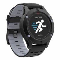 Ceas smartwatch TechONE™ F5 Pro, GPS, puls, altitudine, barometru, termometru, submersibil, pedometru, notificari, negru