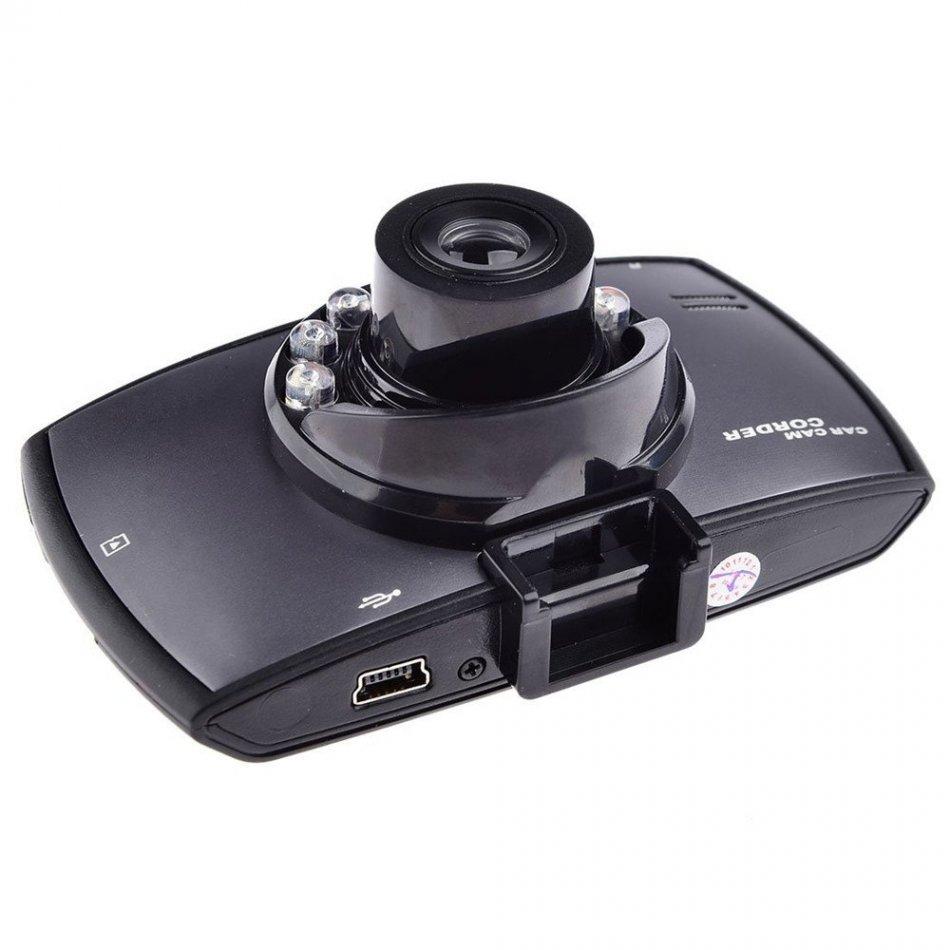 Camera auto DVR Loosafe™ RoadTeam T672, FullHD, night vision, AV out, 4 inch, unghi de filmare 170 grade, tehnologie WDR, loop recording, metalica negru