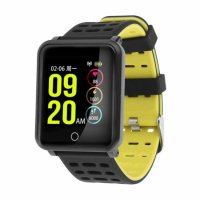 Bratara fitness TechONE™ ID116 Pro, color, 1.3 inch, ip67, multi sport, puls, tensiune, notificari, control camera foto, negru