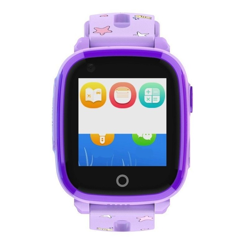 Ceas smartwatch GPS copii Techone™ KT10 4G, foto ultrapixel, apel video, Wi-Fi, telefon, bluetooth, rezistent la apa, SOS, touchscreen, monitorizare spion, Mov