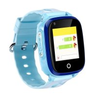 Ceas smartwatch GPS copii Techone™ KT10 4G, foto ultrapixel, apel video, Wi-Fi, telefon, bluetooth, rezistent la apa, SOS, touchscreen, monitorizare spion, Albastru