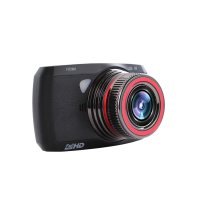 Camera auto DVR TechONE™ RoadTeam W600C, FullHD, night vision, AV out, 3 inch, unghi de filmare 170 grade, tehnologie WDR, clasa PREMIUM, negru