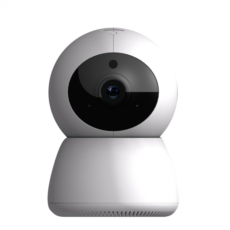 Camera de supraveghere WIFI Loosafe™ PD205L, Rotire automata, FullHD 2.0 MP, lentile Sony, vedere noaptea, sunet, bidirectional, senzor miscare, inregistrare in cloud, alb