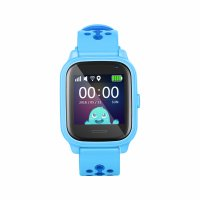 Ceas smartwatch GPS copii TechONE™ KT04 foto ultrapixel 3MP, Wi-Fi, telefon, GPS ultraprecis, bluetooth, SOS, ecran touchscreen, monitorizare spion, albastru,