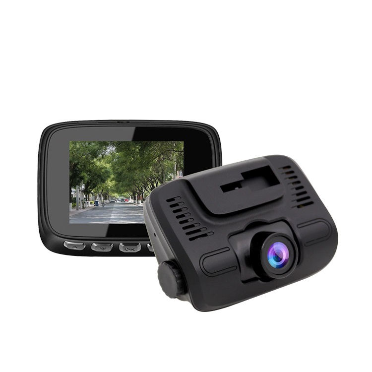 Camera auto DVR Loosafe™ RoadTeam W106C, 2 inch, HD, Senzor G, unghi 140 de grade, mod parcare, inregistrare in bucla, auto ON/OFF, negru