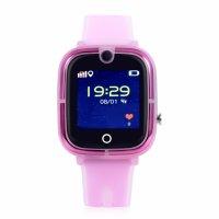 Ceas smartwatch copii GPS TechONE™ KT07, WiFi + localizare foto, camera foto, functie telefon, submersibil, telefon, buton SOS, Roz