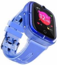 Ceas smartwatch copii GPS TechONE™ KT07, WiFi + localizare foto, camera foto, functie telefon, submersibil, telefon, buton SOS, Albastru