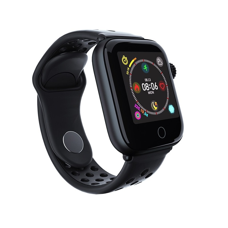 Bratara fitness TechONE™ Z7, color, puls, rezistenta la apa ip67, notificari, negru