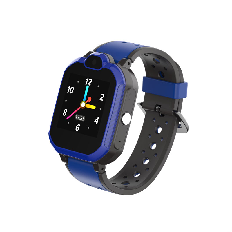 Ceas smartwatch copii GPS TechONE™ LT05, 4G, WiFi + localizare foto, camera foto, telefon, lanterna, buton SOS, apel video, , apel video, rezistent la apa, Albastru