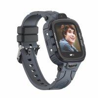 Ceas smartwatch copii GPS TechONE™ TD26, WiFi + localizare foto, camera foto, rezistent la apa, telefon, buton SOS, alerta ceas desfacut, Negru