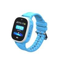 Ceas smartwatch copii GPS TechONE™ TD31, WiFi, localizare foto, camera foto, rezistent la apa, telefon, buton SOS, alerta ceas desfacut, Albastru
