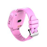 Ceas smartwatch copii GPS TechONE™ TD31, WiFi, localizare foto, camera foto, rezistent la apa, telefon, buton SOS, alerta ceas desfacut, Roz