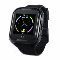 Ceas smartwatch GPS copii Techone™ KT11 4G, apel video, camera ultrapixel, Wi-Fi, rezistent la apa IP67, telefon, bluetooth, SOS, touchscreen, monitorizare spion, Negru