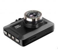 Camera auto mini DVR Loosafe™ RoadTeam K2 Pro, FullHD, 90 de grade, detectare miscare, inregistrare in bucla, blocare fisiere, dimensiuni reduse, auto ON/OFF, negru