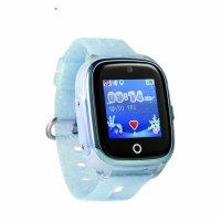 Ceas smartwatch copii cu GPS TechONE™ KT01, WiFi + localizare foto, submersibil, telefon, buton SOS, Verde