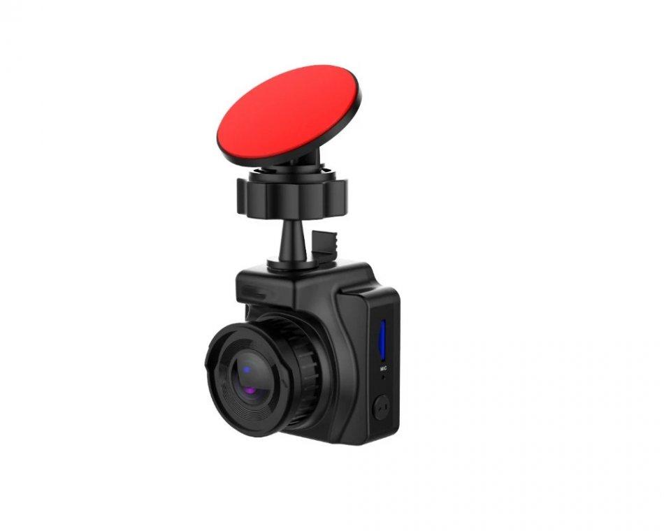 Camera auto DVR TechONE™ RoadTeam H25 WiFi, GPS, chipset Novatek, Full HD 30fps, lentile SONY,  night vision, unghi de filmare 170 grade, senzor G, detectare miscare, tehnologie WDR, negru
