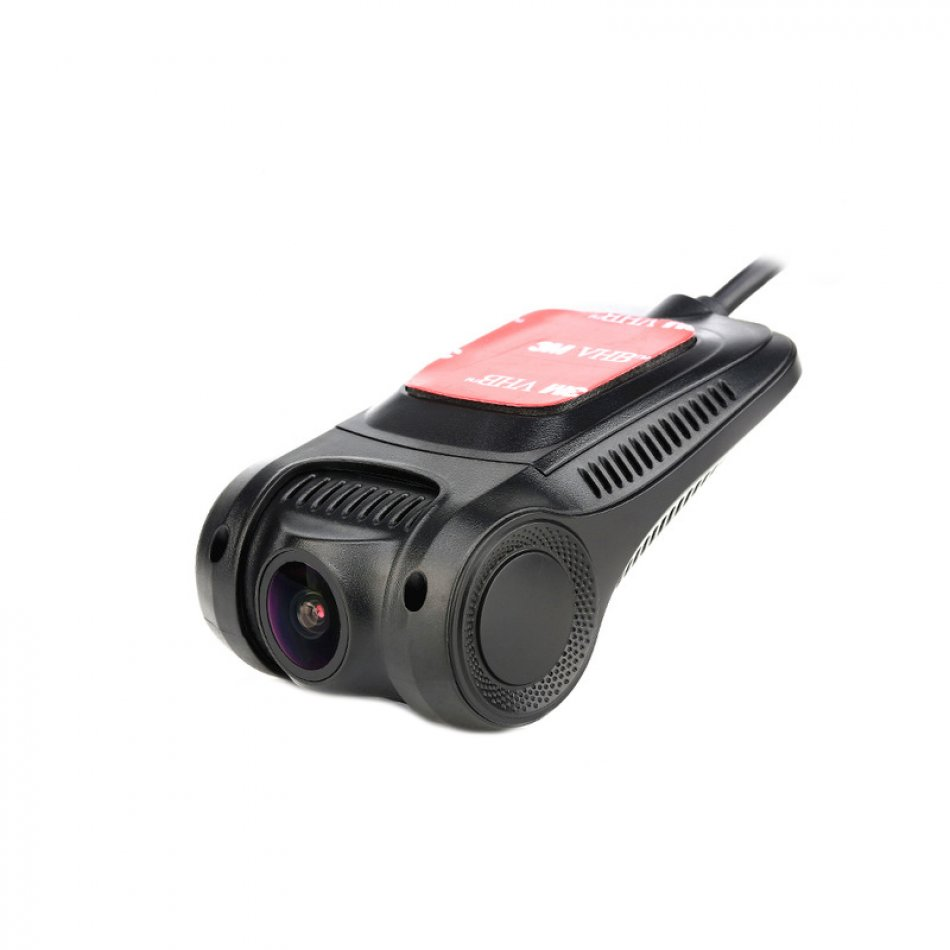 Camera auto DVR TechONE™ RoadTeam H22 WiFi, chipset Novatek, lentile Sony, Full HD 30fps, night vision, unghi de filmare 170 grade, senzor G, detectare miscare, negru