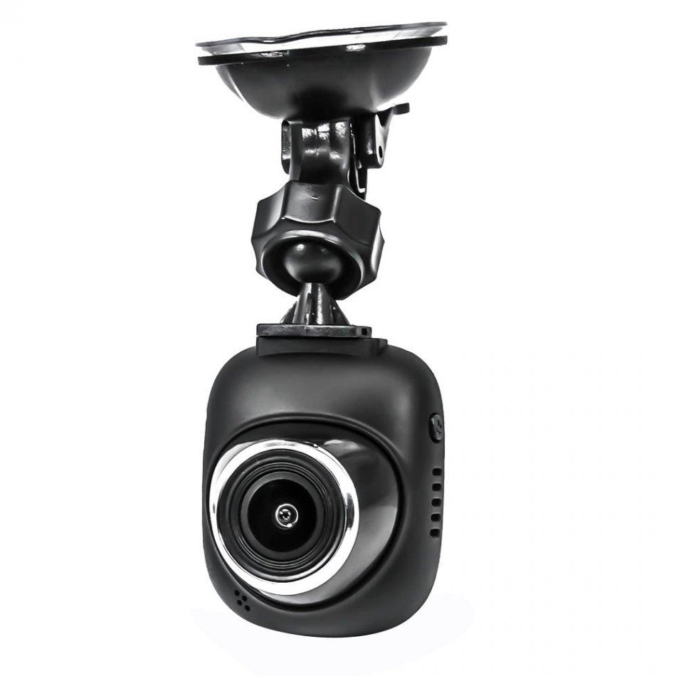 Camera auto DVR TechONE™ RoadTeam F9, chipset Novatek, Full HD 30fps, night vision, unghi de filmare 120 grade, senzor G, monitor parcare, , negru