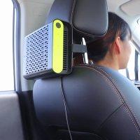 Purificator aer auto, KD Home™ JO-6601, ioni negativi/ozon, filtru HEPA detasabil, 2 moduri de putere, elimina mirosuri, fum, bacterii, negru