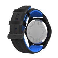 Ceas smartwatch TechONE™ F3 Sport, autonomie 12 luni, rezistent la apa ip68, Android/iOS, notificari apeluri, sms, barometru, altitudine, negru