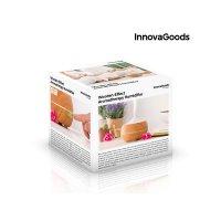 Difuzor aromaterapie InnovaGoods™ KD02, lumina ambientala, timer, ultrasunete, rezervor 300ml