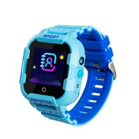 Ceas smartwatch GPS copii TechONE™ KT12 4G, apel video, camera ultrapixel, Wi-Fi, rezistent la apa, telefon, bluetooth, SOS, touchscreen, monitorizare spion, Albastru