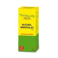 ALCOOL MENTOLAT 1% 40g SOL.