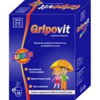 ZDROVIT GRIPOVIT JUNIOR CUTIE X 10 PLICURI
