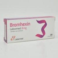 BROMHEXIN 8mg/ 2 BL x 10 x 20 COMPR.