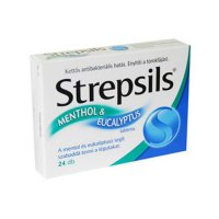 STREPSILS MENTOL+EUCALIPT  x 24 TABLE