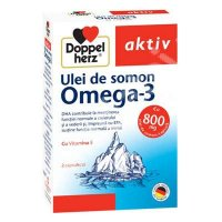 DOPPELHERZ AKTIV OMEGA3-ULEI SOMON*30TB