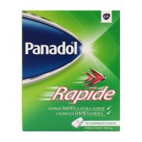 PANADOL RAPID 500mg x 10 COMPR. FILM.