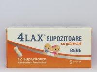 SOLACIUM 4LAX GLICERINA BEBE X 12SUP