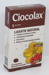 CIOCOLAX  x 12 COMPR
