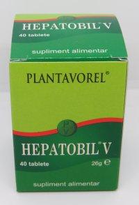 HEPATOBIL V FLAC. X 40 COMPR.