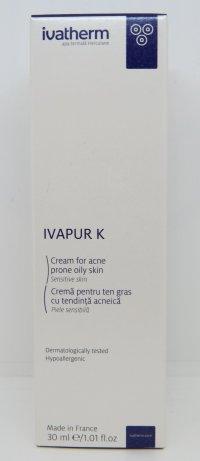 IVATHERM CREMA TEN GRAS/ACCNEIC 30ML