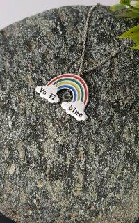 Colier Rainbow pentru copii